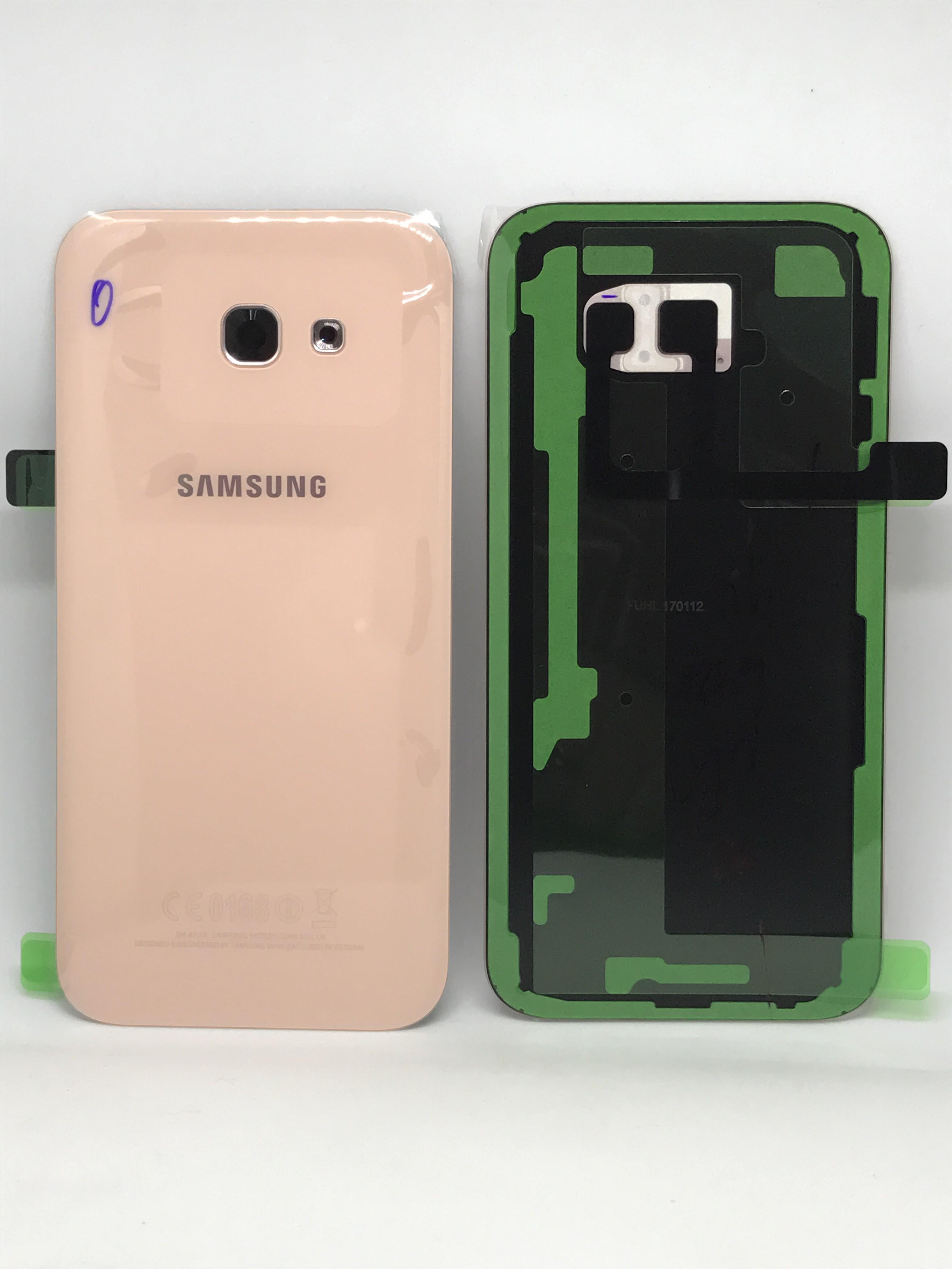 Capac baterie Samsung galaxy A3 2017 A320f Pink Rose GH82-13636D